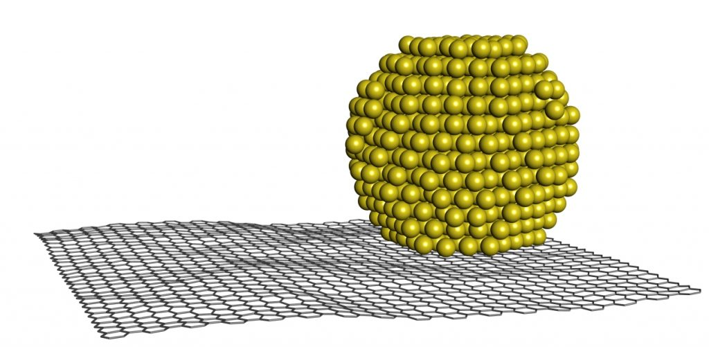 Au-923 NC on graphene